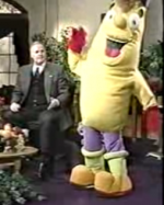 Kenny the Banana Makes his Debut on Christian TV