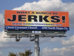Christians are a bunch of jerks